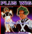 FANCY DRESS COSTUME WILLY WONKA OOMPA LOOMPA + WIG + PAINT XL